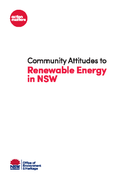 Community Attitudes to Renewable Energy in NSW